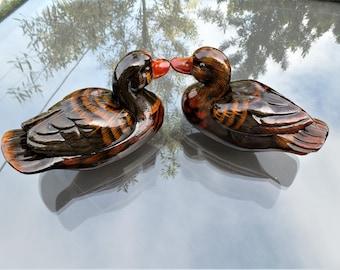 Duck Figurine, Duck Decoration, Animal Decoration, Ceramic Duck, Duck Collection, Vintage Jewelry Set, Figurines and Trinkets, Souvenir gift