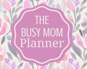 The Busy Mom Planner Desi...