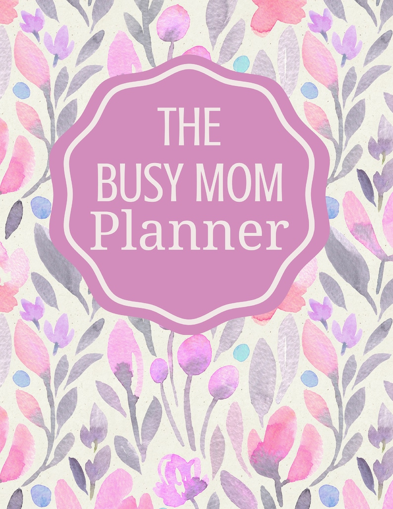 The Busy Mom Planner Design Two image 0