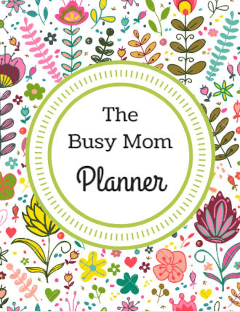 The Busy Mom Planner image 0