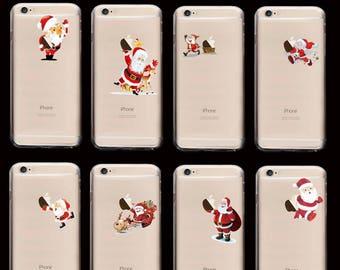 Christms Xmas Secret Santa Festive Cute Apple Case Cover For iPhone 4 5 SE 5c 6