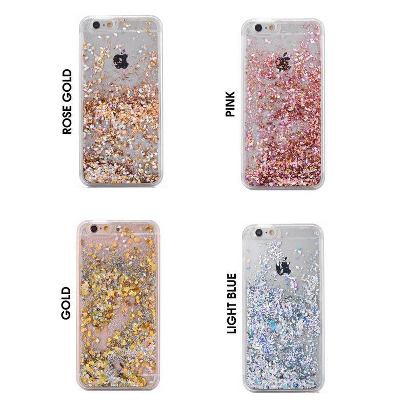 Glitter Bling Sparkle Floating Sequins Latest Design Case image 0