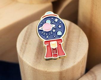 Space Gumball Enamel Pin