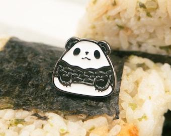 Panda Onigiri Enamel Pin
