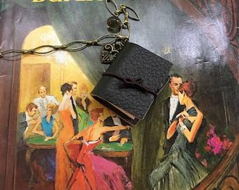 Favorite Book necklace