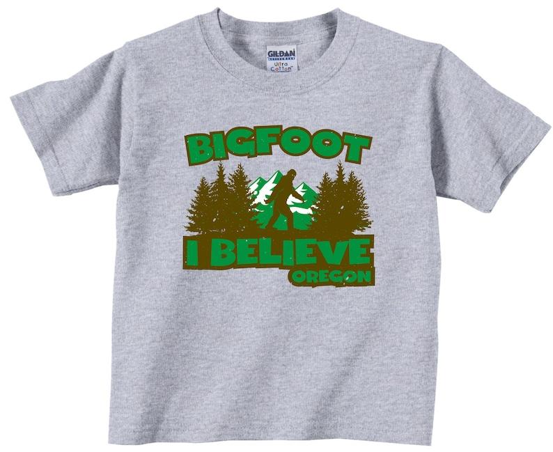 6cb00f39 BIGFOOT I BELIEVE Oregon Infant Bodysuits/T-Shirts & | Etsy