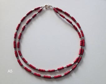 Various beautiful necklaces 9.95 euro in different colors and different lengths fun as gift for Birthday Friendship Gala