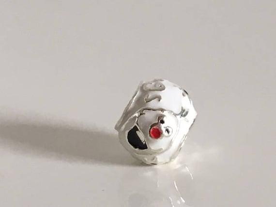 1 pc Disney charm Olaf Frozen Pandora style for European brand bracelets  like Pandora Trollbeads Tedora Pippa Dippa Larenza Imenso etc
