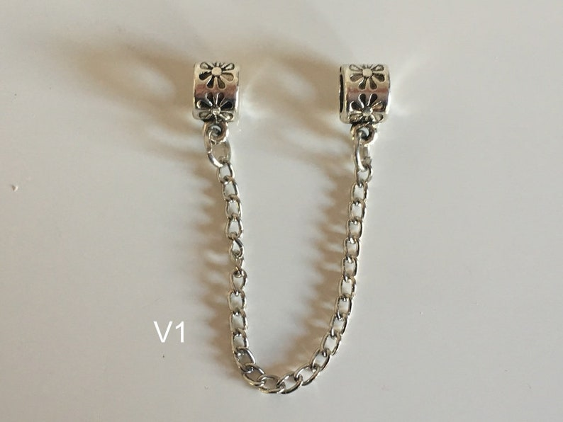 Nice gift for birthday or for yourself 1 pc nice safety chain safety chain for charm bracelet or necklace