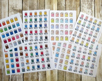 Buy all the stickers, Happy mail, buy stickers, functional planner sticker, shopping sticker, functional sticker