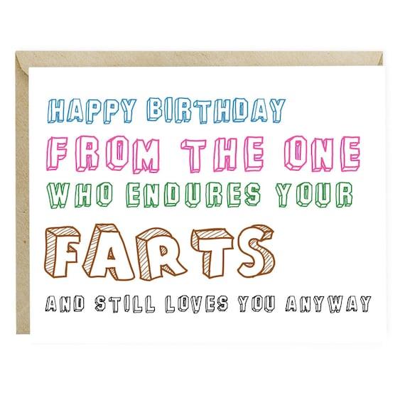 Funny Birthday Card For Boyfriend Husband Wife Girlfriend Etsy