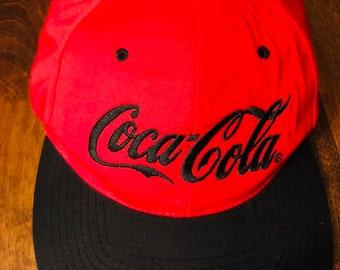 Red and black Coca Cola ball cap 03f8c514b7e