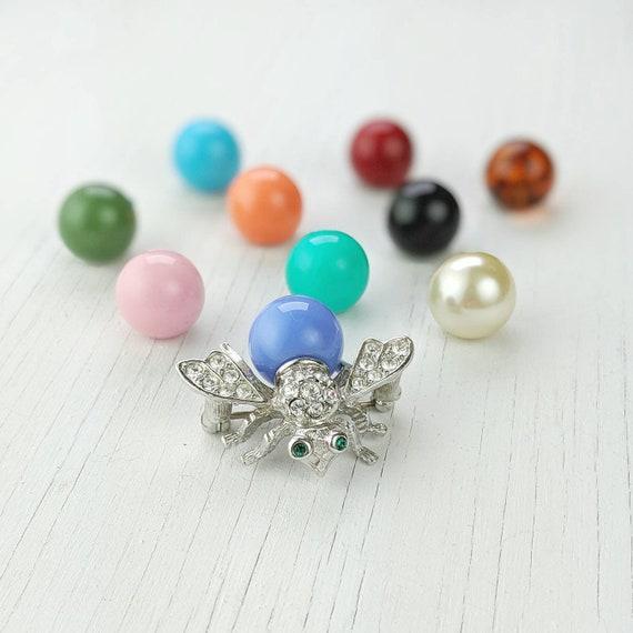 Joan Rivers Bee Pin | Interchangable Beads | Class