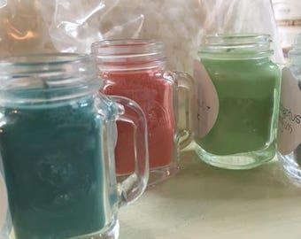 Mini 2oz Mason Jar Candles