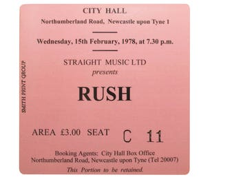 Coaster. rush. Newcastle City Hall. Newcastle