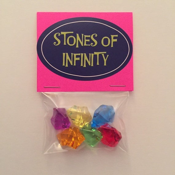 Avengers Endgame Infinity stones Gems Of Thanos All 6 pcs Cosplay Jewelry 2019