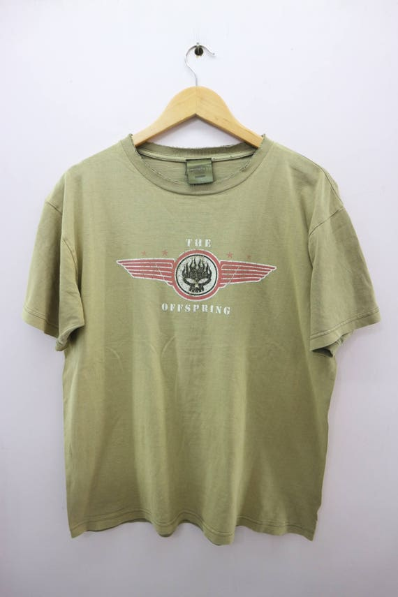The Offspring Shirt Big Logo American Rock Band P… - image 1