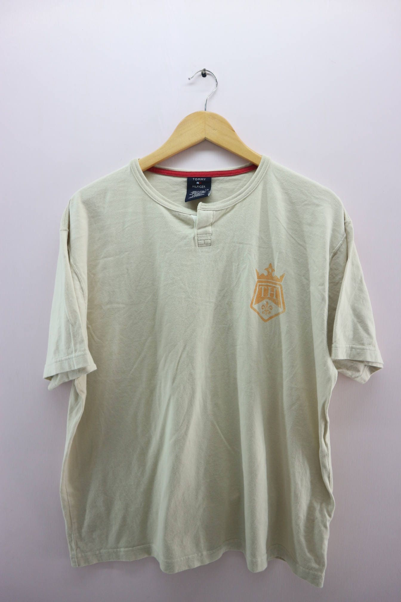 995326e7f Vintage Tommy Hilfiger Shirt Minimalist Logo Designer Street | Etsy