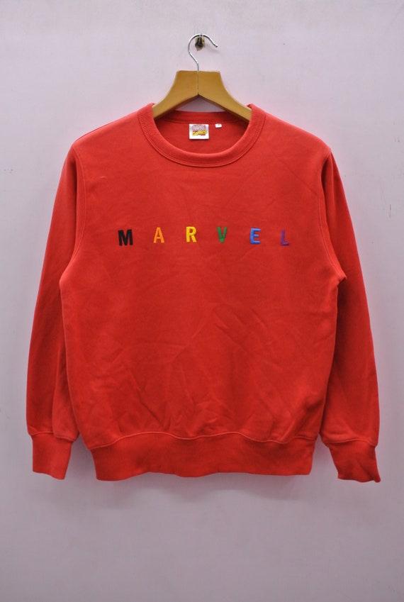 Vintage Marvel Comics Sweatshirt Embroidered Spell