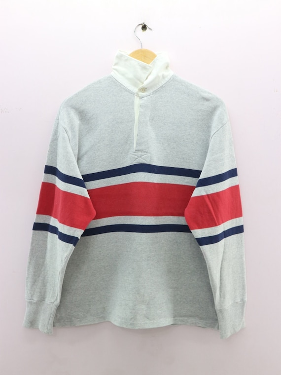 Vintage The Rugby Shirt US Naval Quality Maker Spo