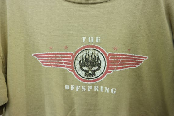 The Offspring Shirt Big Logo American Rock Band P… - image 2