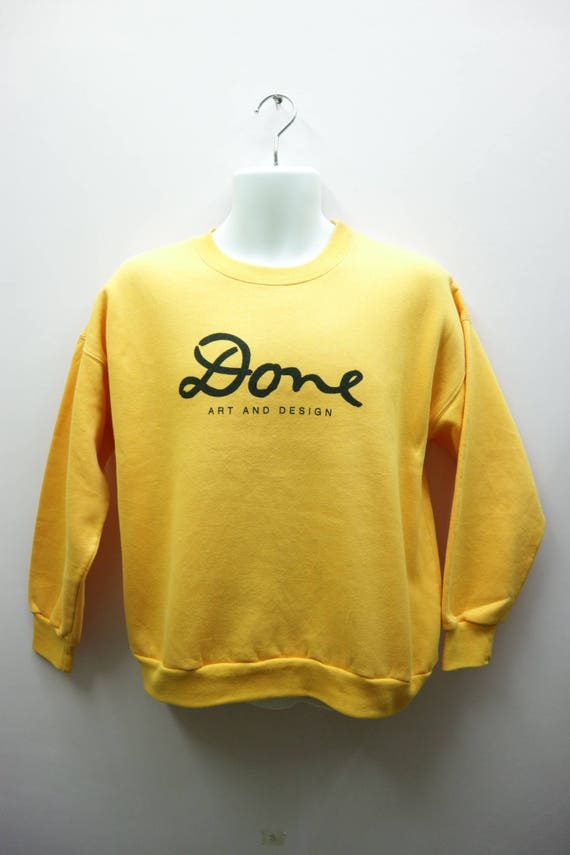 KEN DONE hoodies pullover spellout full zipper small size