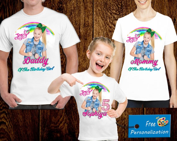 JoJo Siwa Birthday Shirt T