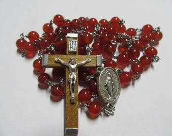 Red Carnelian Rosary