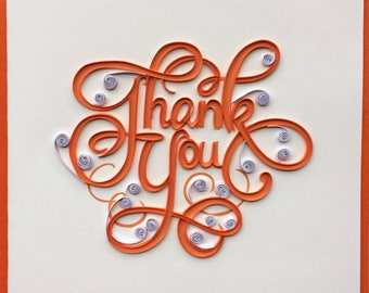 Thank You Card - L004