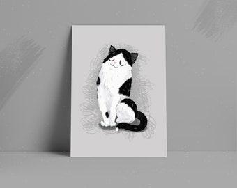 Stylised Custom Pet Portrait • Pet Illustration Art Print • Family Pet Drawing • Digital or Printed Personalised Gift