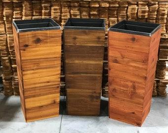 Wood Planter Box Etsy