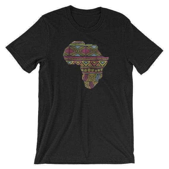 de6ab7ceeff7 Afrique carte chemise, Afro dashiki Style africain fierté Afrique de motifs  colorés, Afrique fierté ...