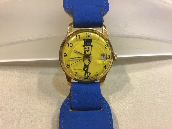 Vintage Mr. Peanut Watch/ Mr Peanut Watch/ Mr. Pea