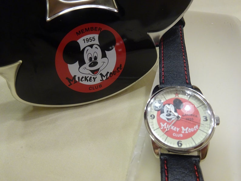 Mickey Mouse Watch Value >> Vintage Disney Mickey Mouse Club Watch Vintage Mickey Mouse Etsy