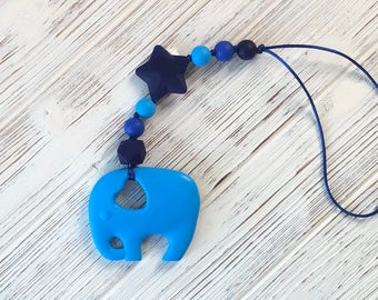 Baby carrier toy, baby carrier teether, stroller toy, stroller teether,  Elephant teether, teething toys, chewie,  sensory toy, chewlery