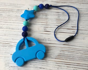 Car Teether, Baby Carrier Teether, Stroller Toy, Stroller Teether, Sensory Toy, Silicone Teether, Baby Carrier Accessory, Teether, Teething