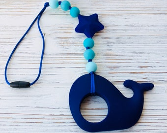 Baby carrier accessory, Whale teether, teething, Chewelry, sensory toy, Stroller toy, stroller teether, Baby Carrier Teether, Wrap Toy