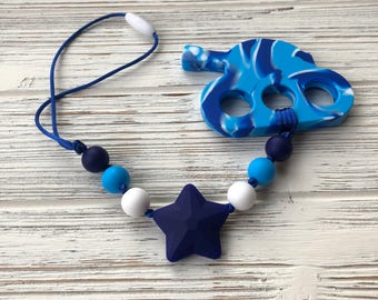 Stroller Teether, Stroller Toy, Baby Carrier Teether, Baby Carrier Toy, Sensory Toy, Tank Teether, Babywearing, Baby Carrier Accessory
