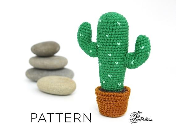 DIY Amigurumi Crochet Kawaii Cactus - YouTube | 428x570