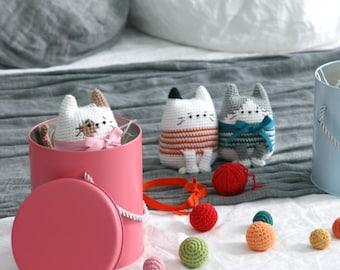 crochet pattern-The Tong Tong cat(PDF/ENG)