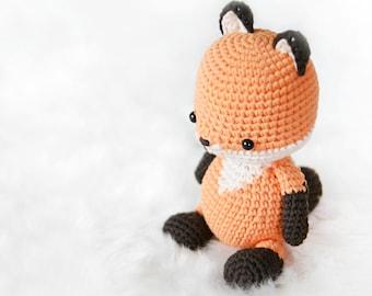 crochet pattern-The fox(PDF/ENG/KOR)