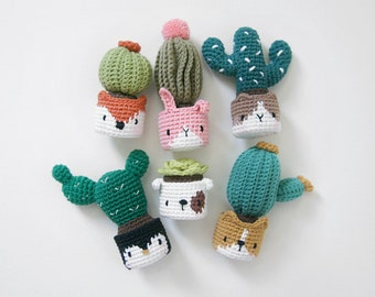 crochet pattern-cactus in the facepot(PDF/ENG)