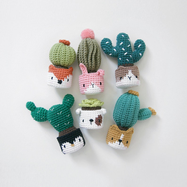 crochet pattern-cactus in the facepotPDF/ENG image 0