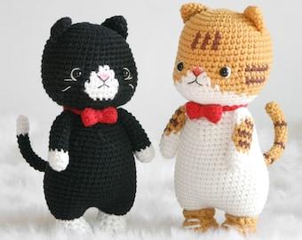 crochet pattern-Cats(PDF/ENG/KOR)