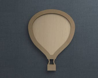 Hot Air Balloon Frame Picture Etsy