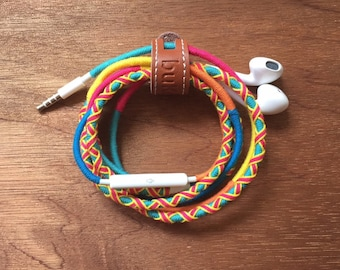 Sunrise Cotton Braided Earphones