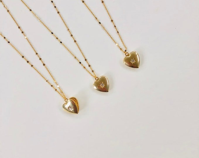 Lover's Locket Necklace