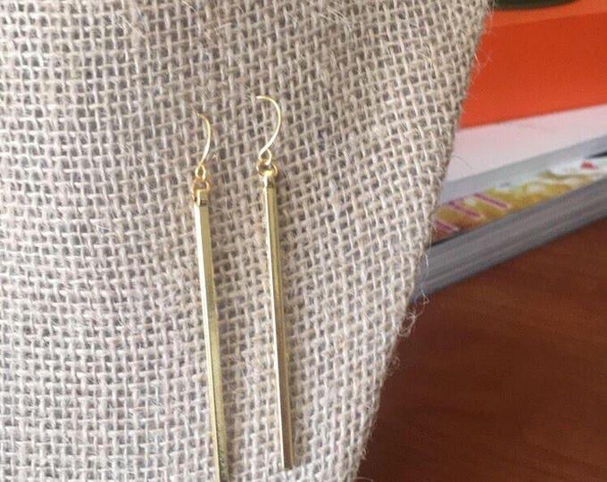 The Eva Earrings (gold)
