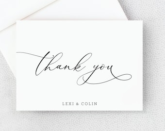 thank you cards personalized