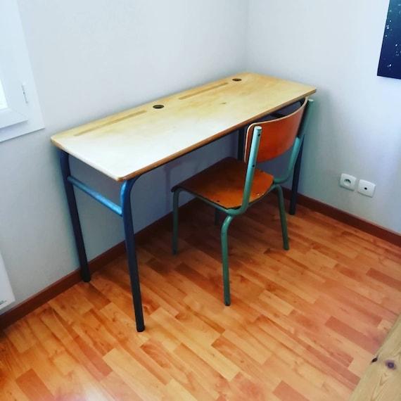 Bureau Ecolier Avec Chaise Loft Atelier Industriel